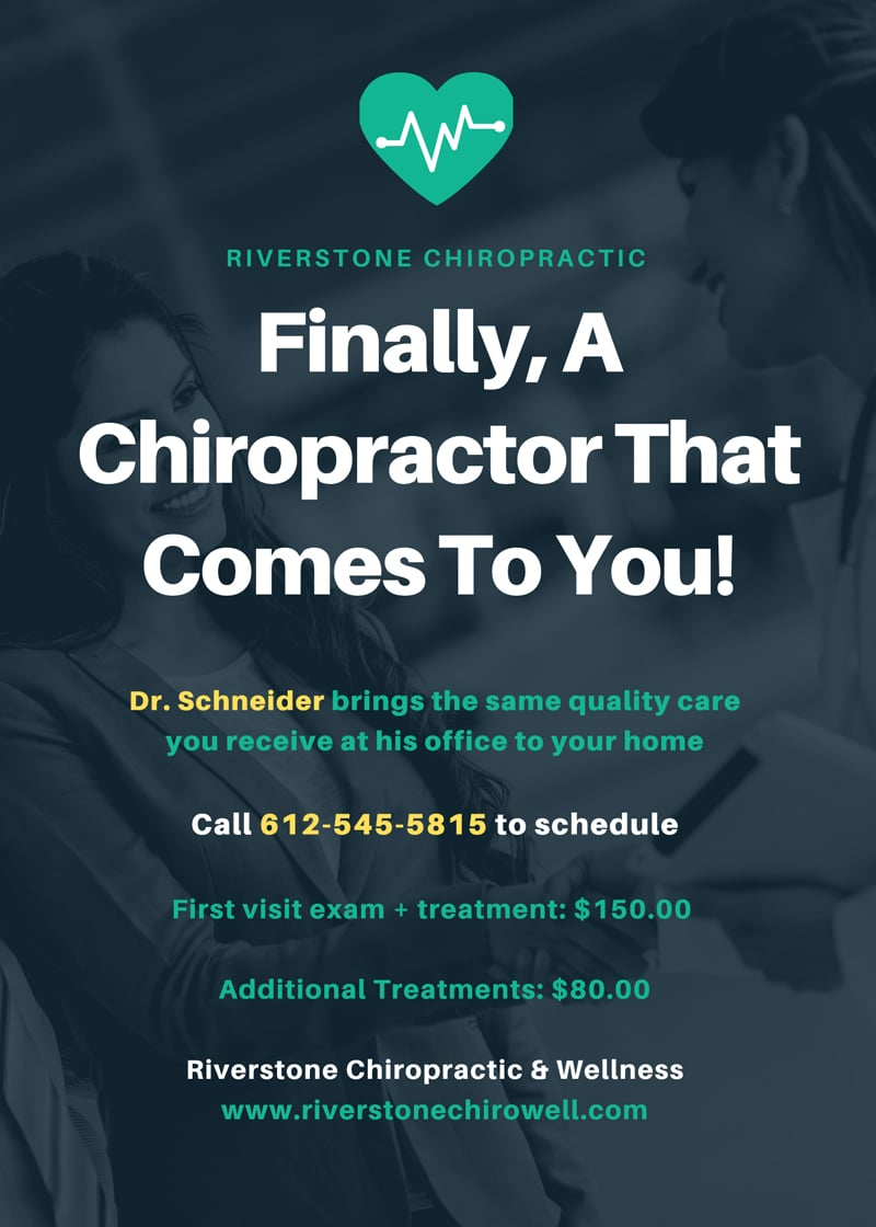 In Home Chiropractic Care in Minneapolis MN