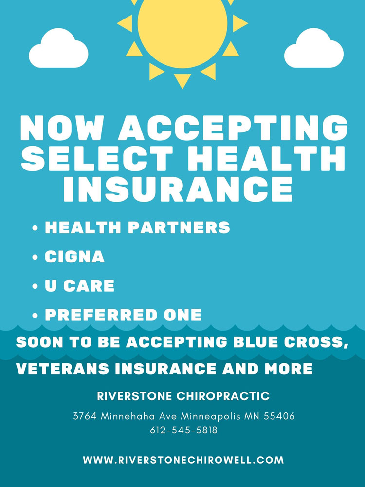Chiropractic Minneapolis MN Accepted Insurance